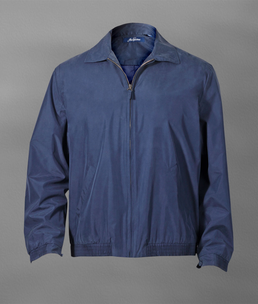 Navy 107364 - Classic Windbreaker Jacket
