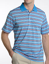 101311 - 4 Line Stripe Polo
