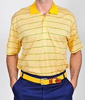 101326 - Spacedyed Jacquard Polo