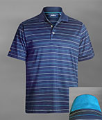 101306 - Alternating Stripe Polo