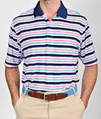 101320 - Shadow Stripe Polo