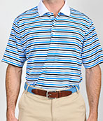 101322 - Scholar Stripe Polo